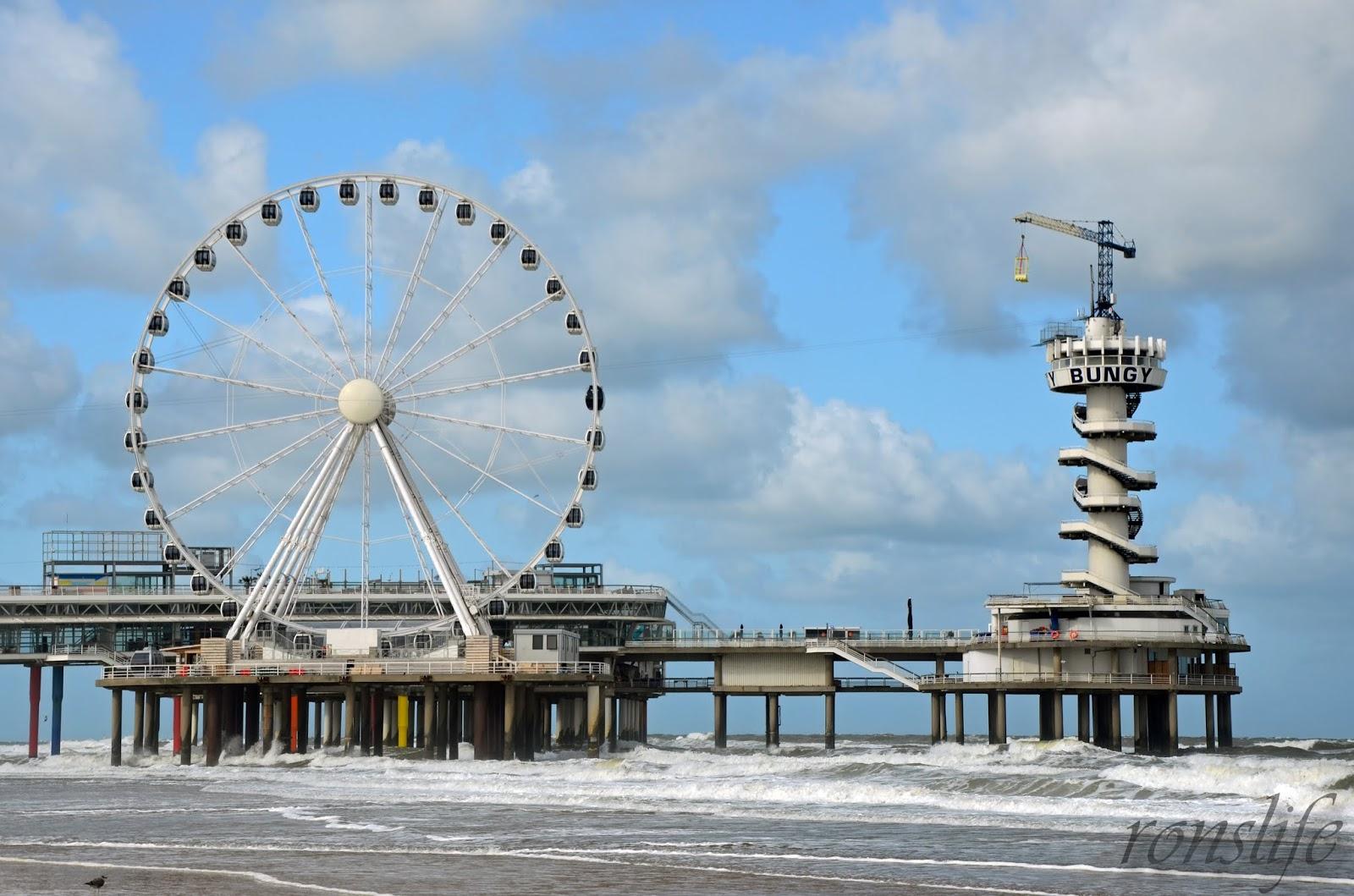 Reuzenrad op de Pier