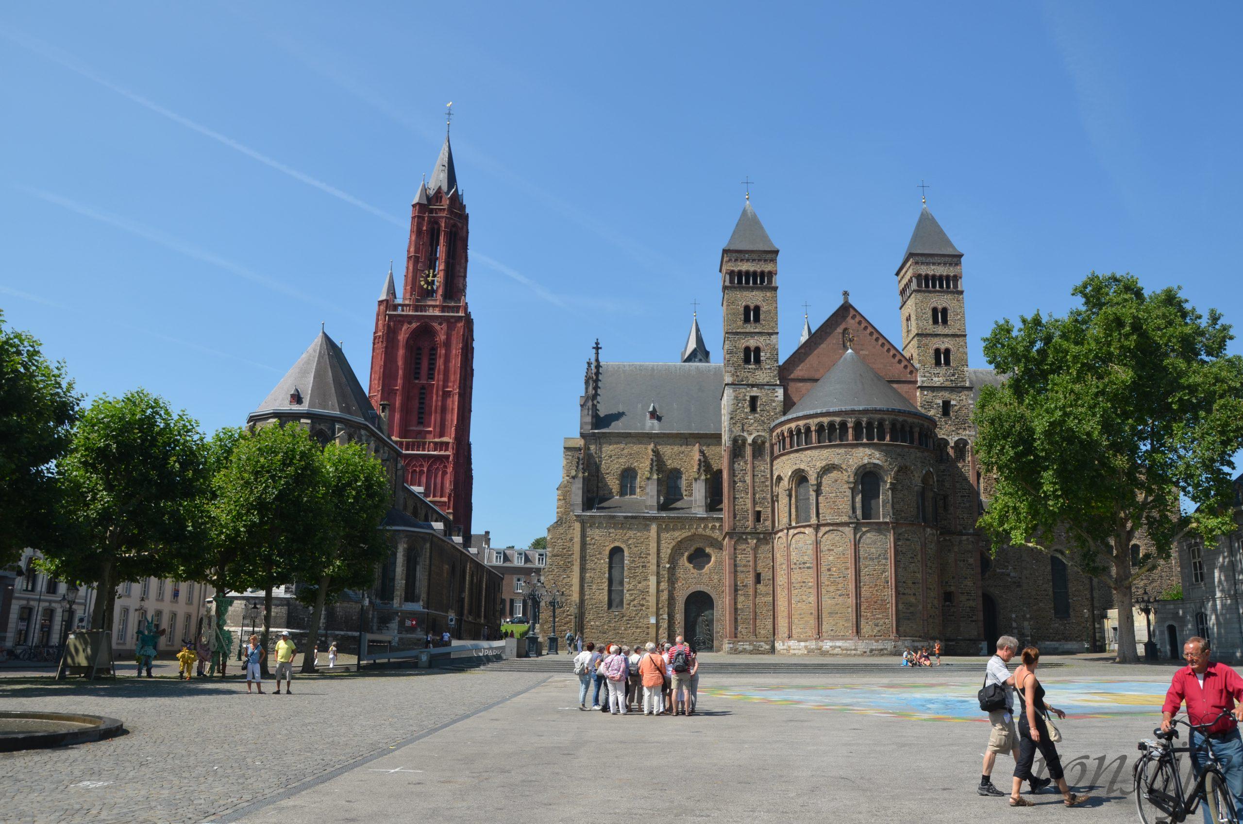Sint Janskerk en de Basiliek van Sint Servaas in Maastricht