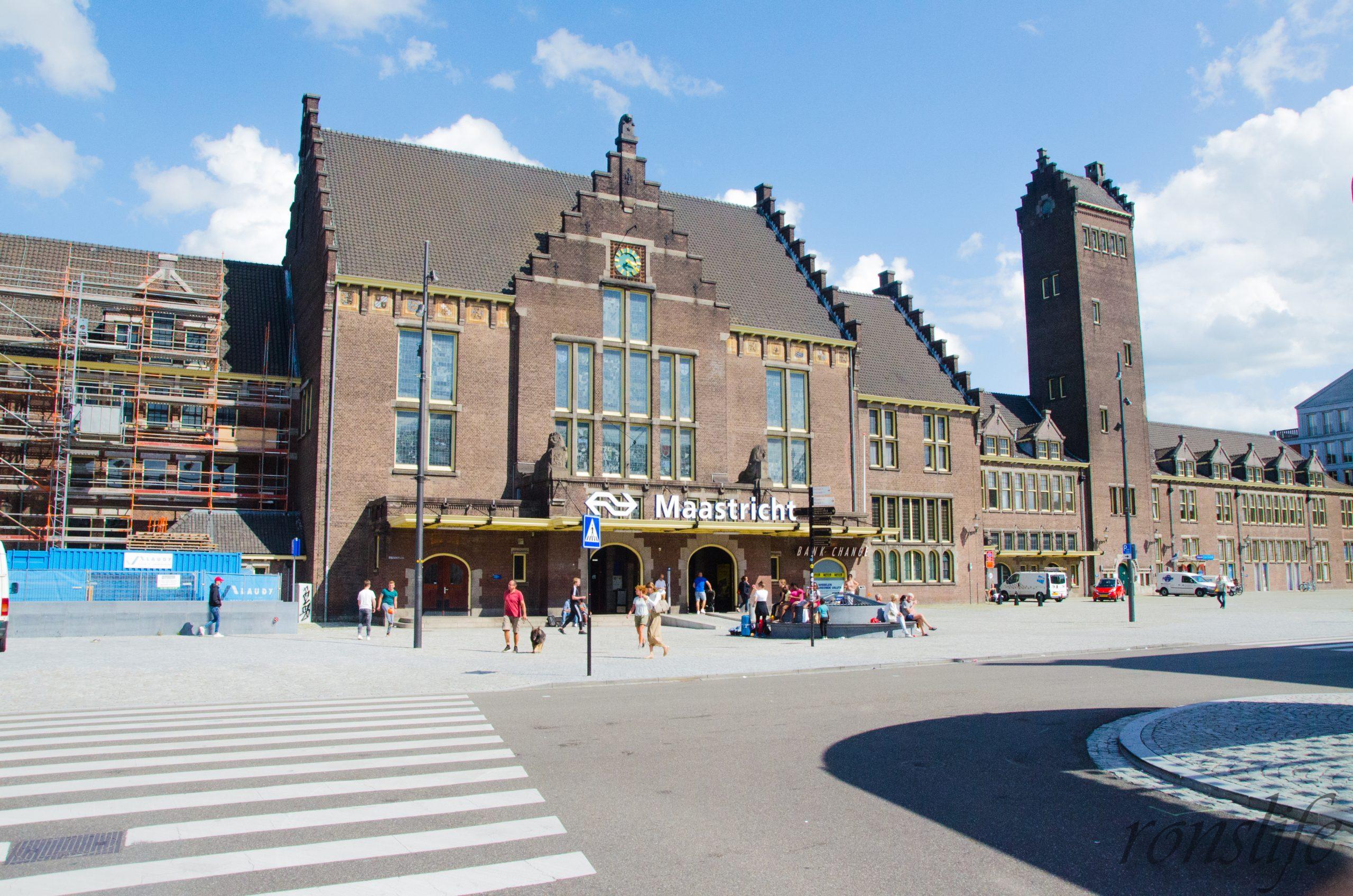 Het station van Maastricht