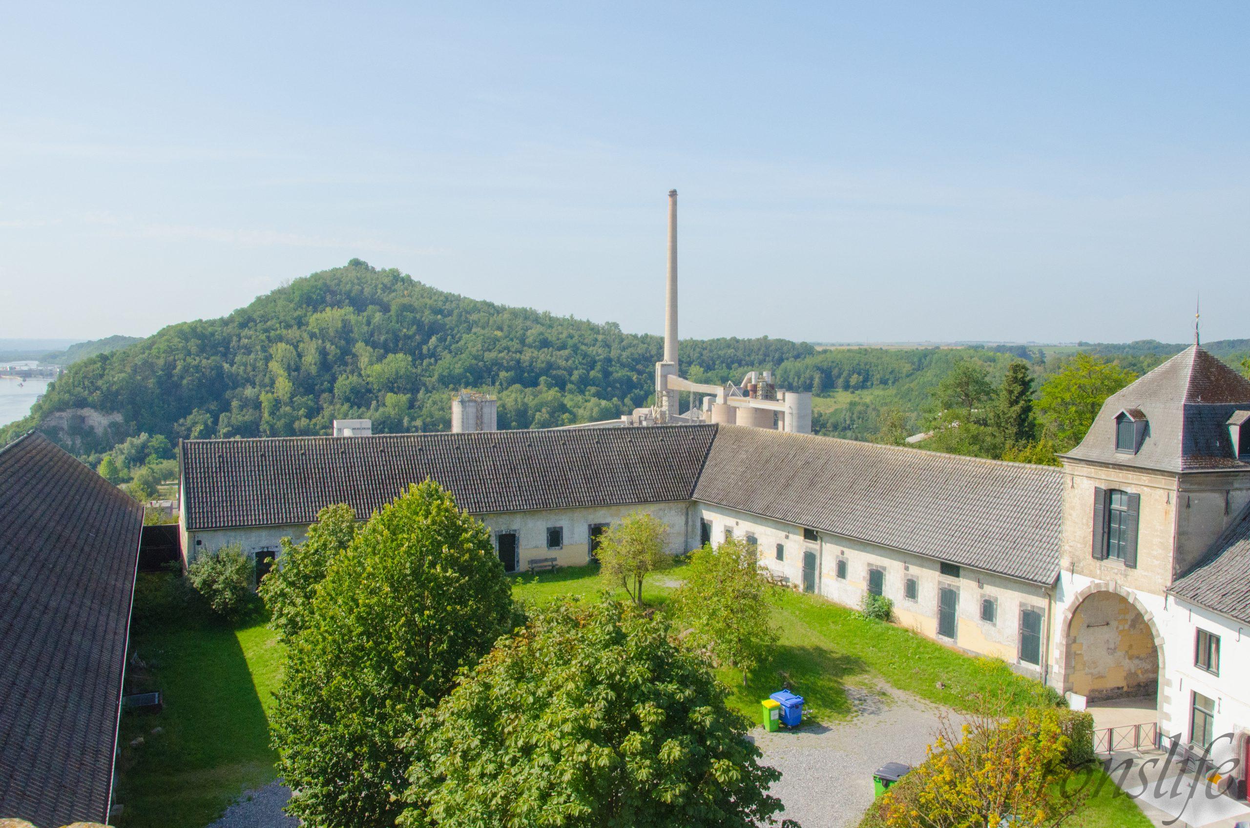 Uitzicht vanaf de toren Lichtenberg