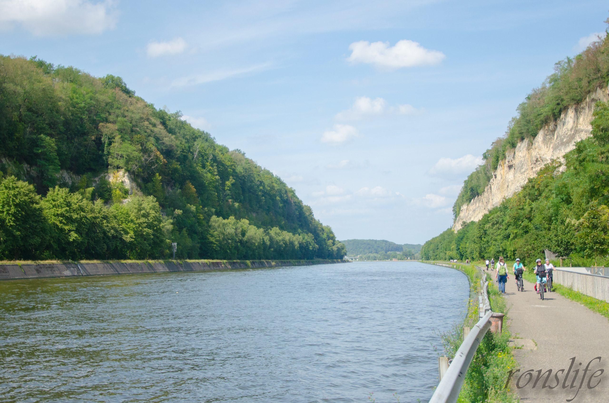 Albertkanaal richting Kanne in België